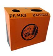 Lixeiras para coleta seletiva coletor de pilhas e baterias