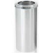 lixeiras aço inox alumínio escovado 13, 15, 25 e 50 litros