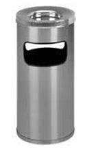 Cinzeiros e bituqueiras, bt09 cinzeiro e lixeira aluminio 25 litros